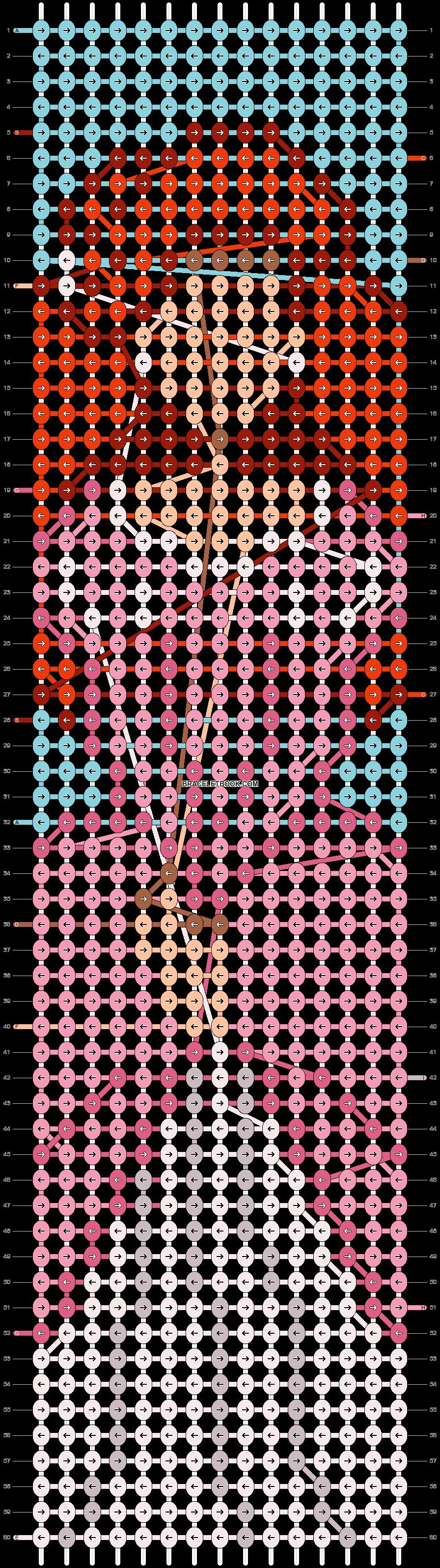 Alpha pattern #62483 pattern