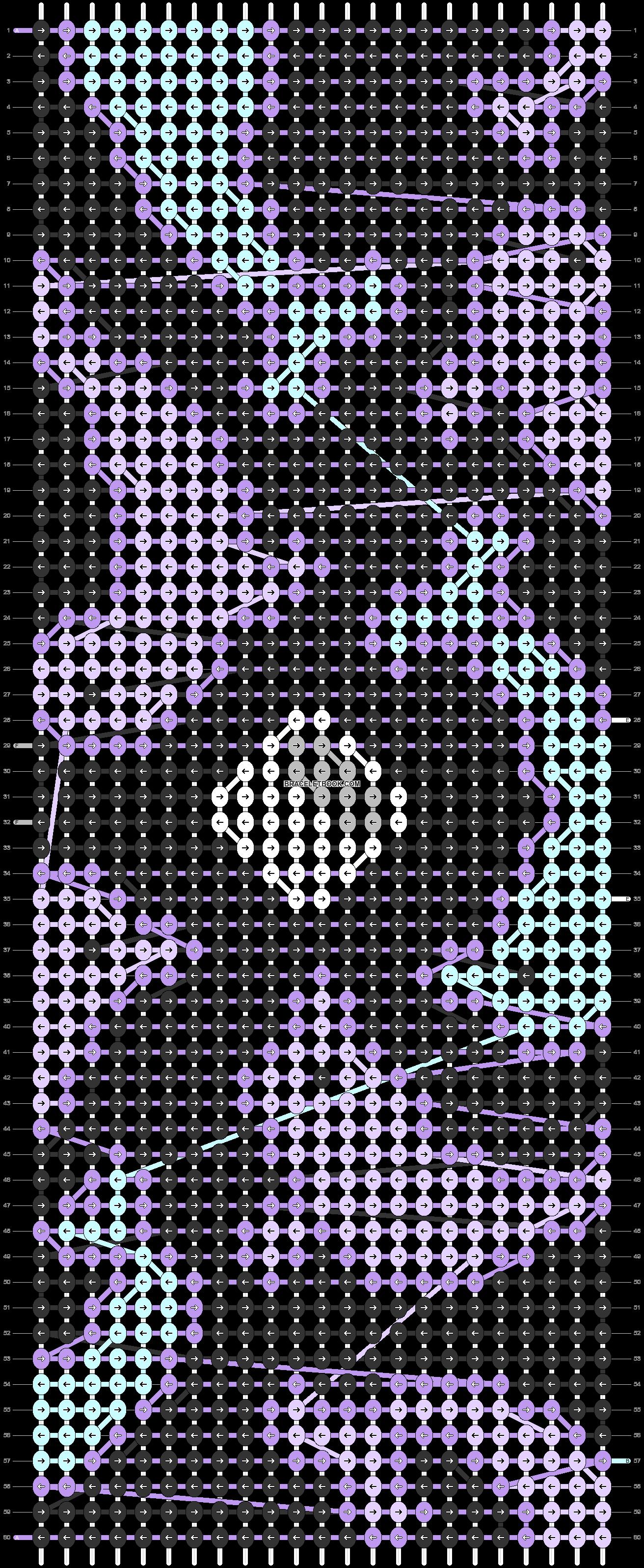 Alpha pattern #62490 pattern