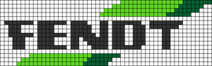 Alpha pattern #62500