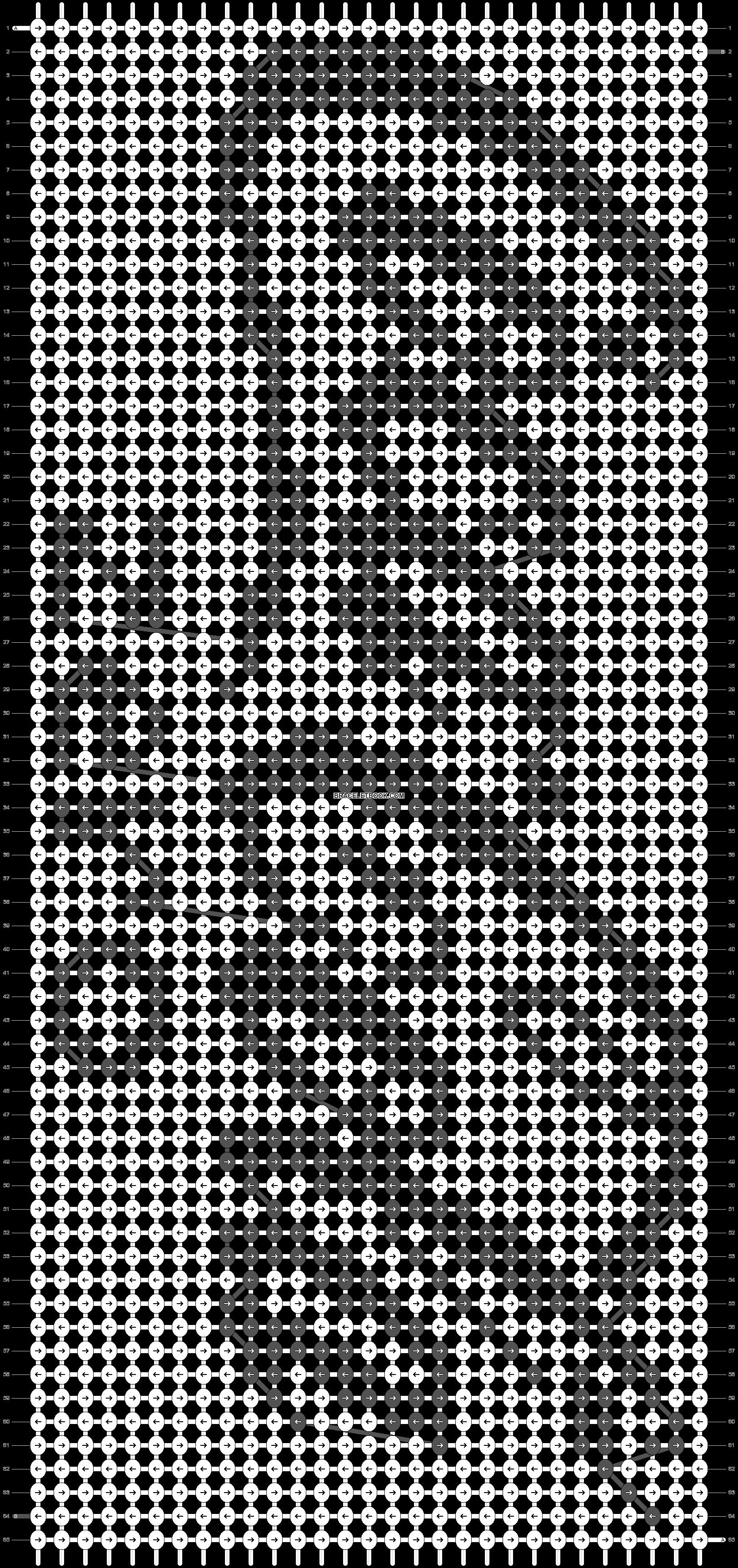 Alpha pattern #62525 pattern