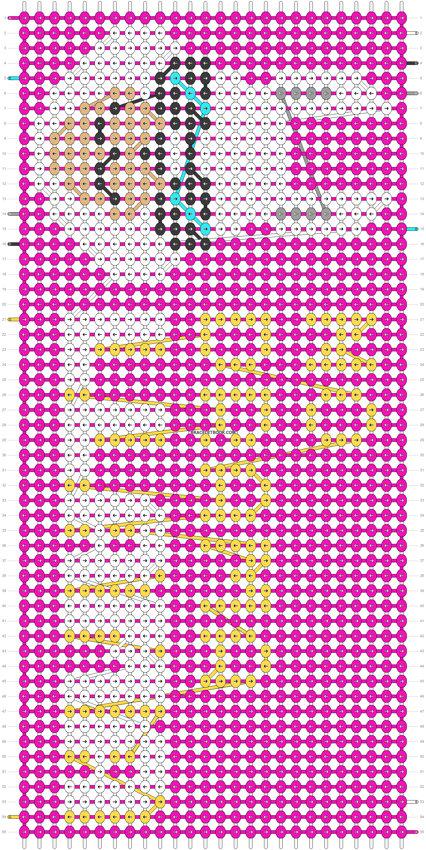 Alpha pattern #62534 pattern
