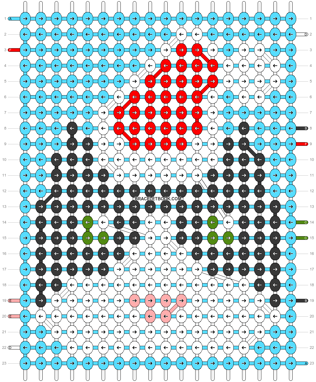 Alpha pattern #62551 pattern