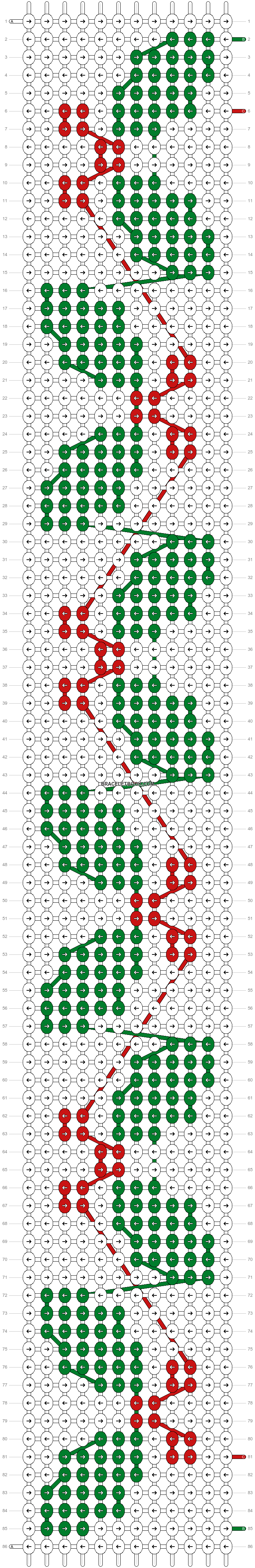 Alpha pattern #62567 pattern