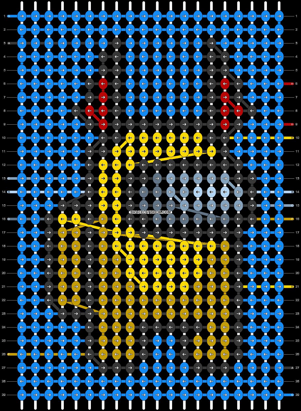 Alpha pattern #62581 pattern