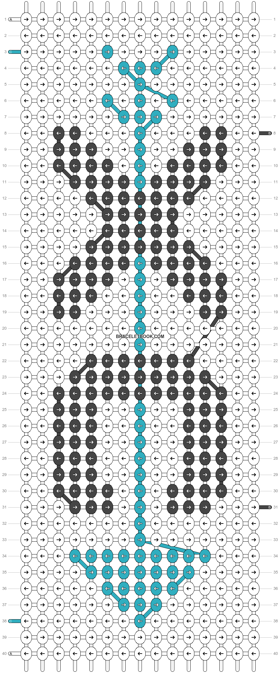 Alpha pattern #62585 pattern