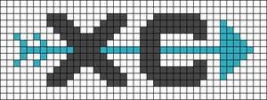 Alpha pattern #62585