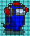 Alpha pattern #62598