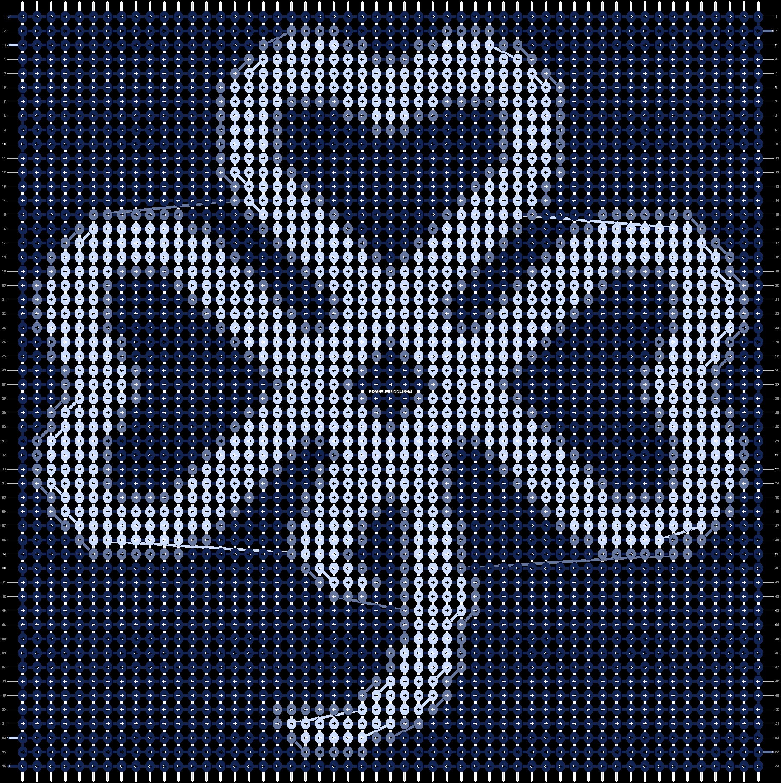 Alpha pattern #62600 pattern