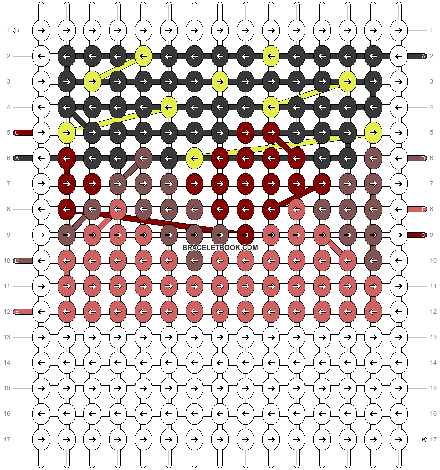 Alpha pattern #62609 pattern