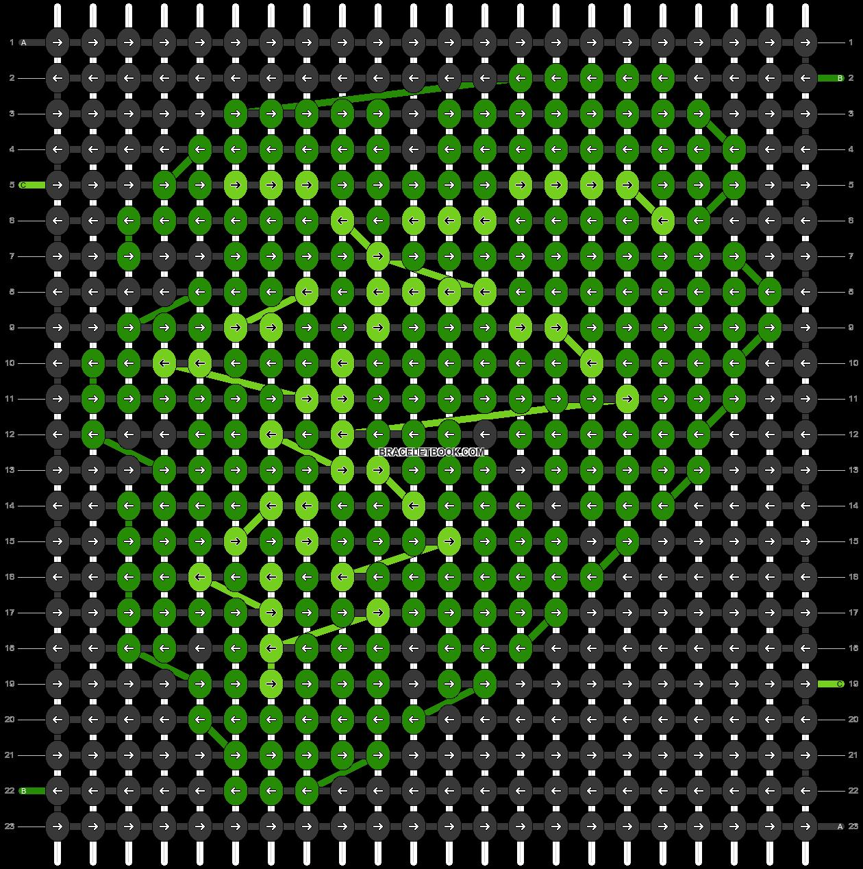 Alpha pattern #62614 pattern