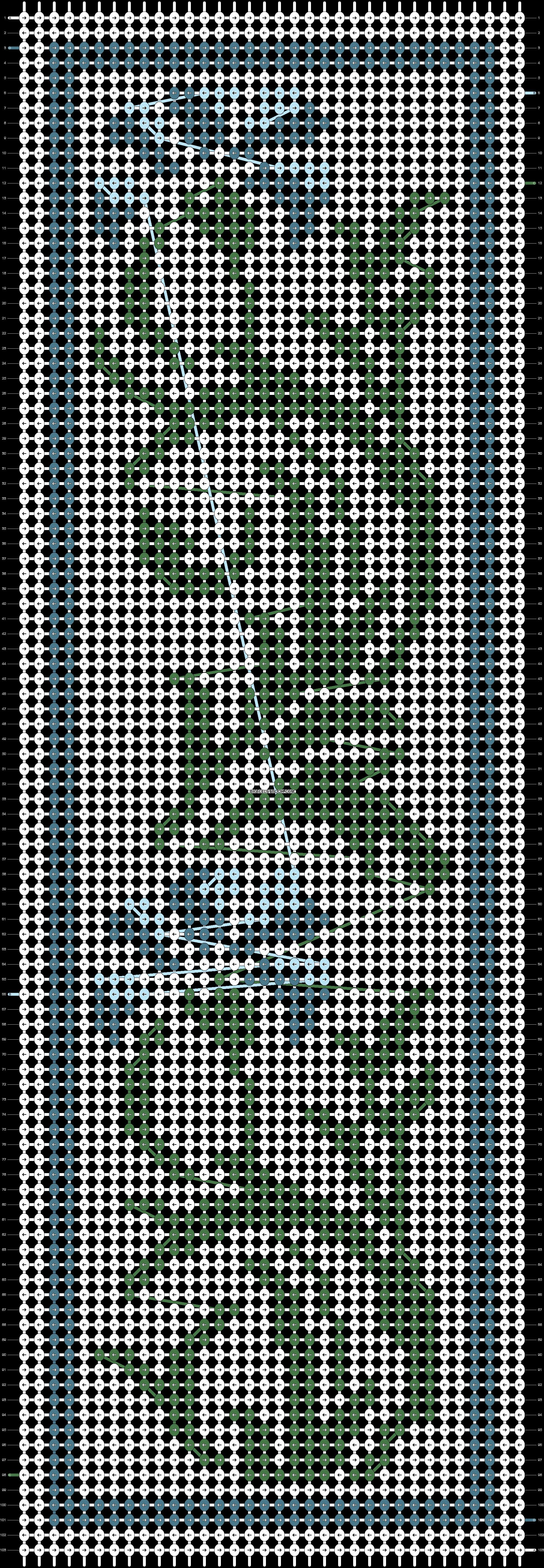 Alpha pattern #62632 pattern