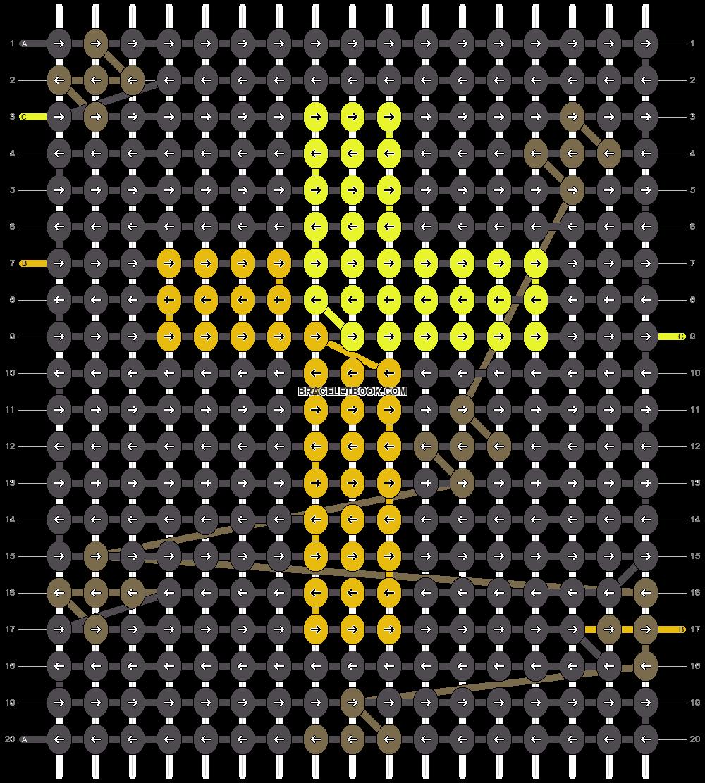 Alpha pattern #62639 pattern