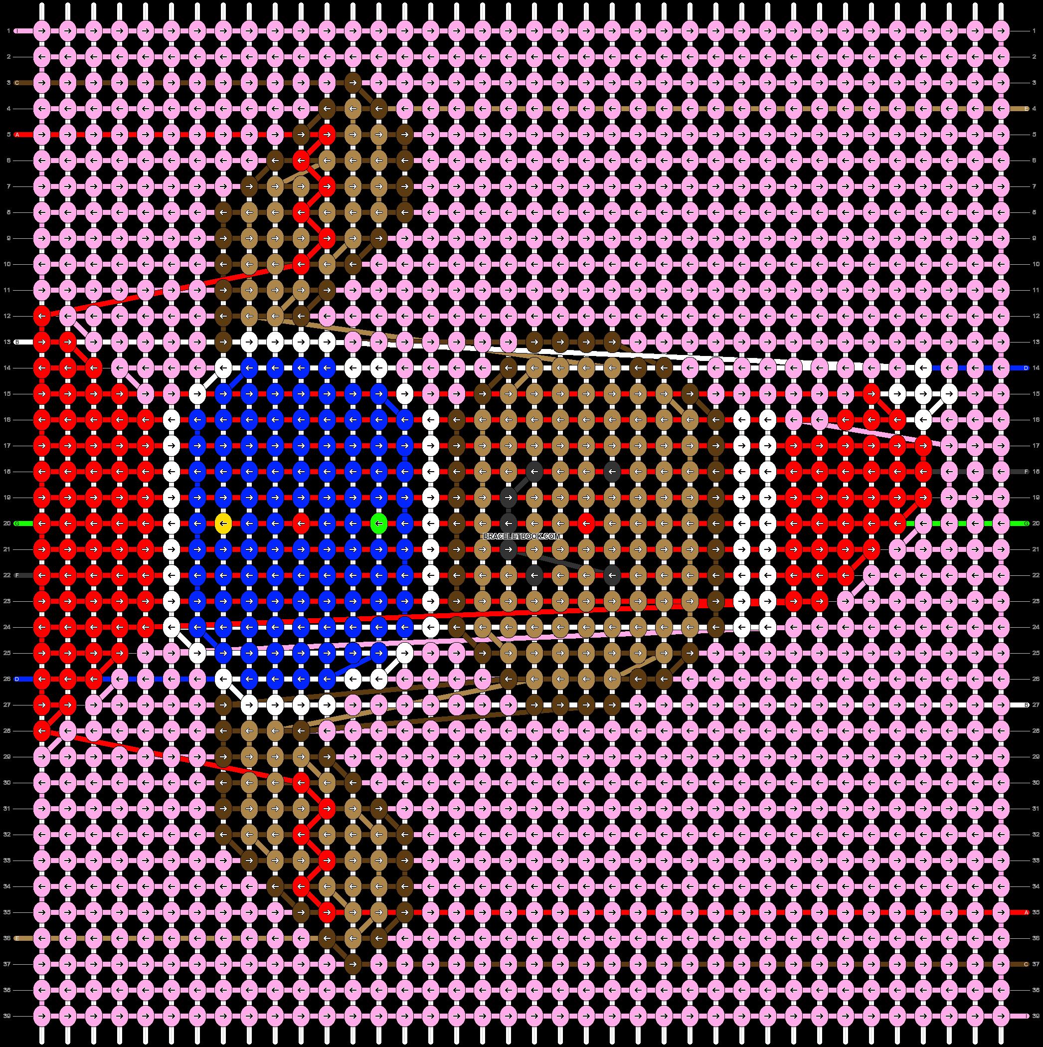 Alpha pattern #62642 pattern