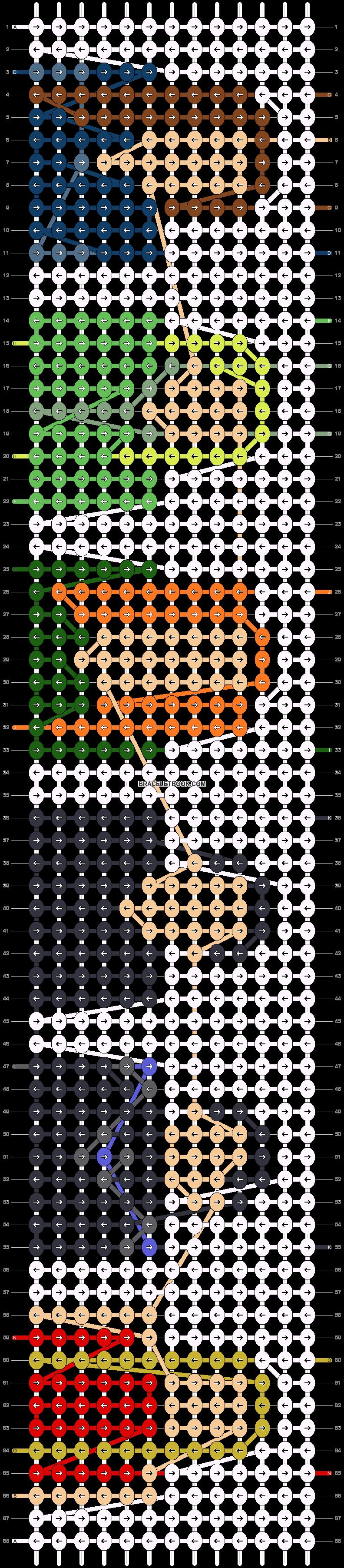Alpha pattern #62654 pattern