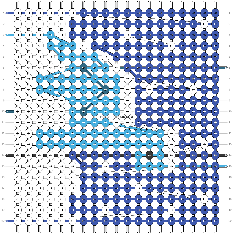 Alpha pattern #62655 pattern