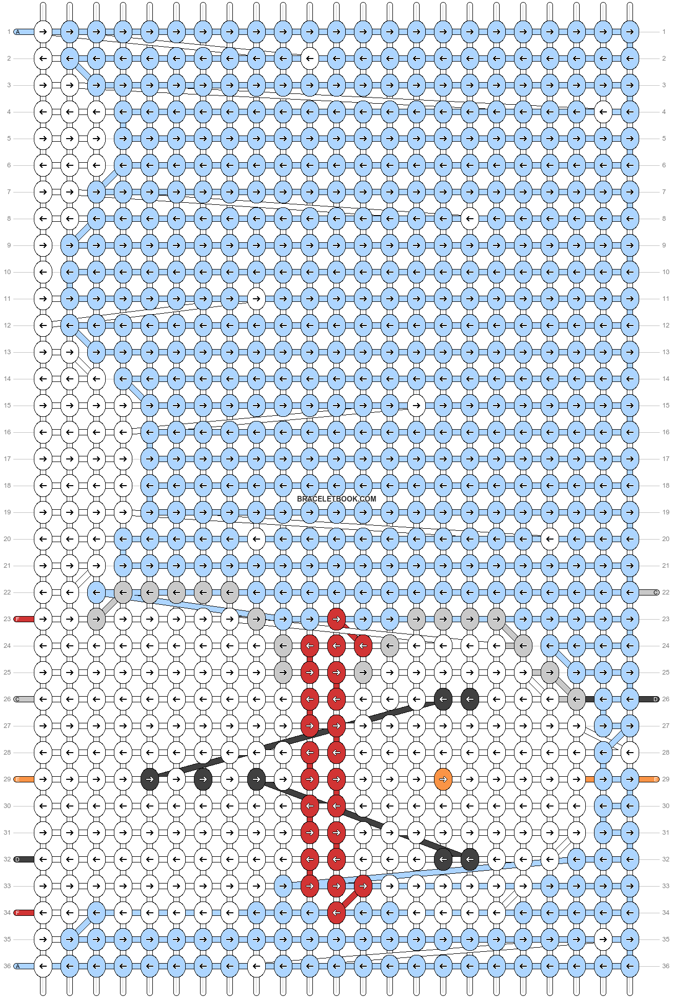 Alpha pattern #62661 pattern