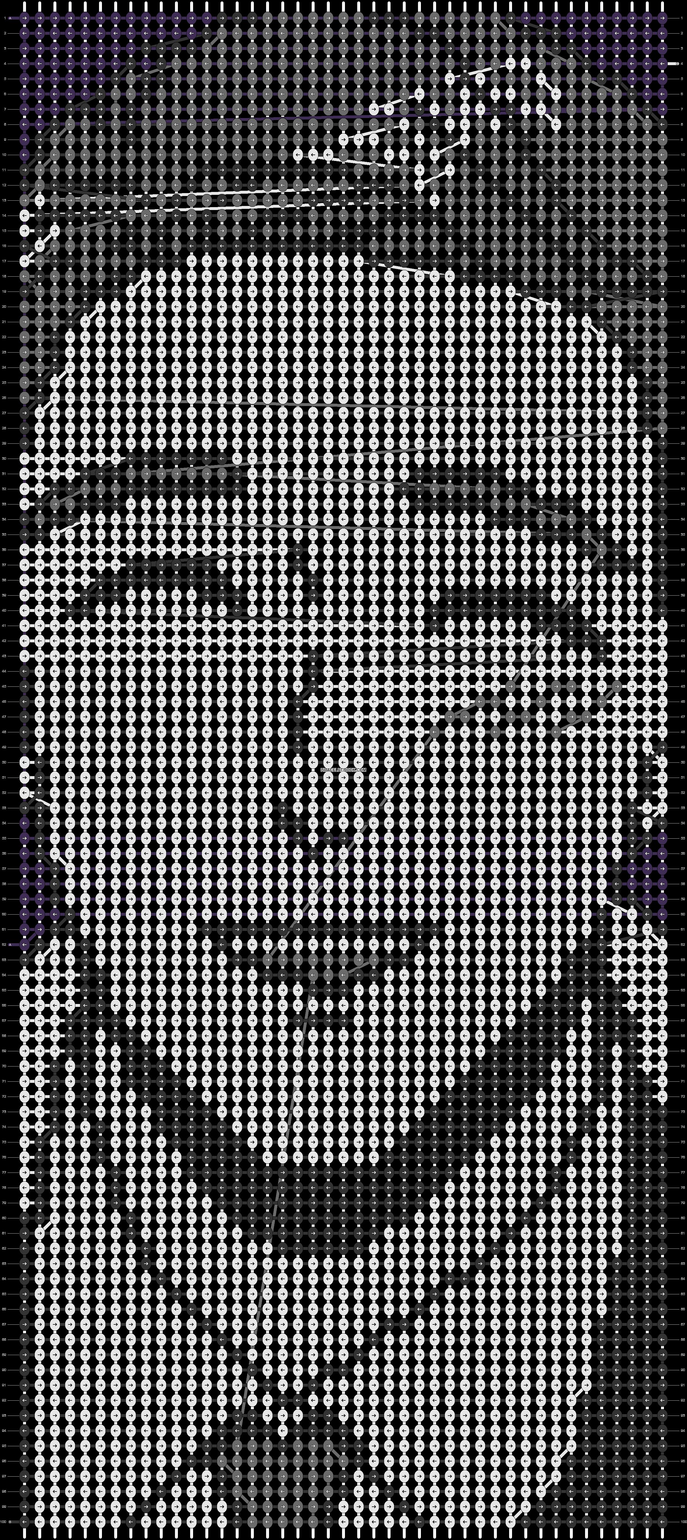 Alpha pattern #62667 pattern