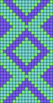 Alpha pattern #62687