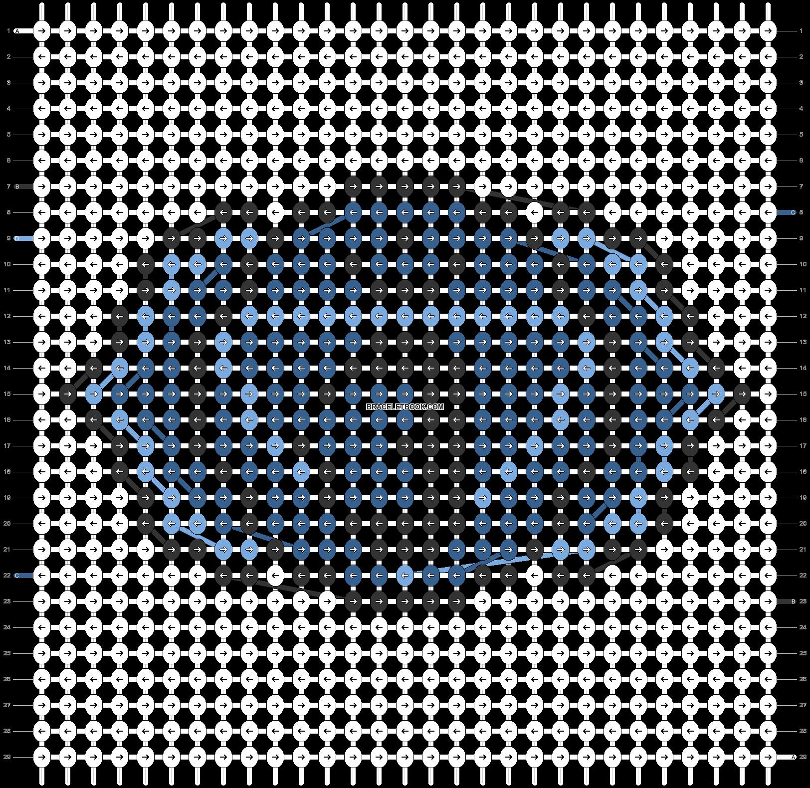 Alpha pattern #62691 pattern