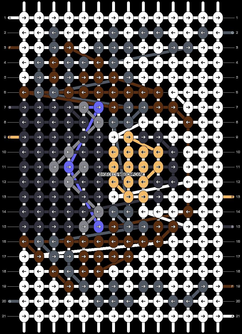 Alpha pattern #62692 pattern