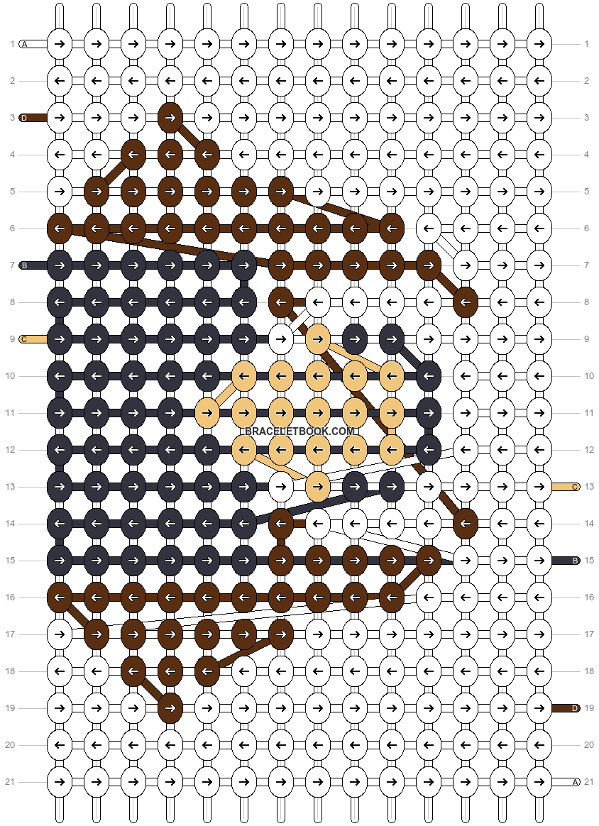 Alpha pattern #62693 pattern