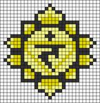 Alpha pattern #62723