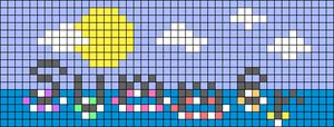 Alpha pattern #62724