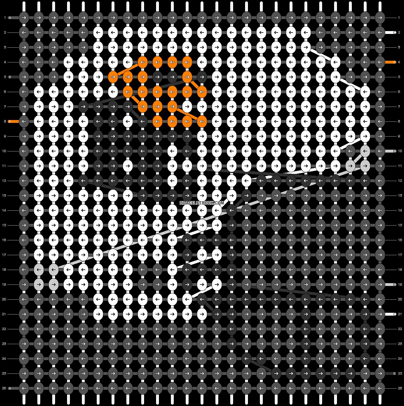 Alpha pattern #62730 pattern