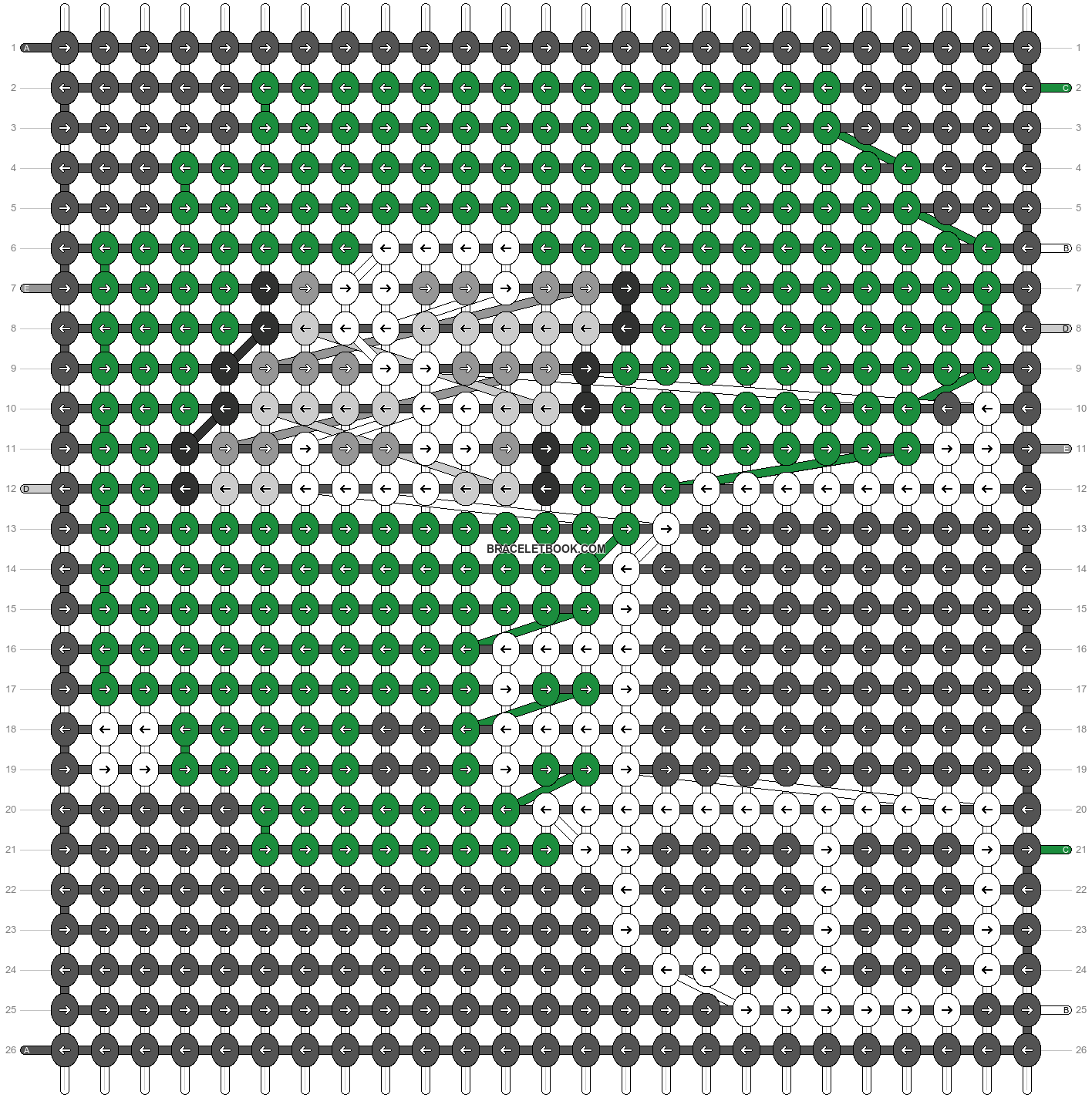 Alpha pattern #62736 pattern