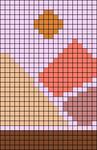 Alpha pattern #62740