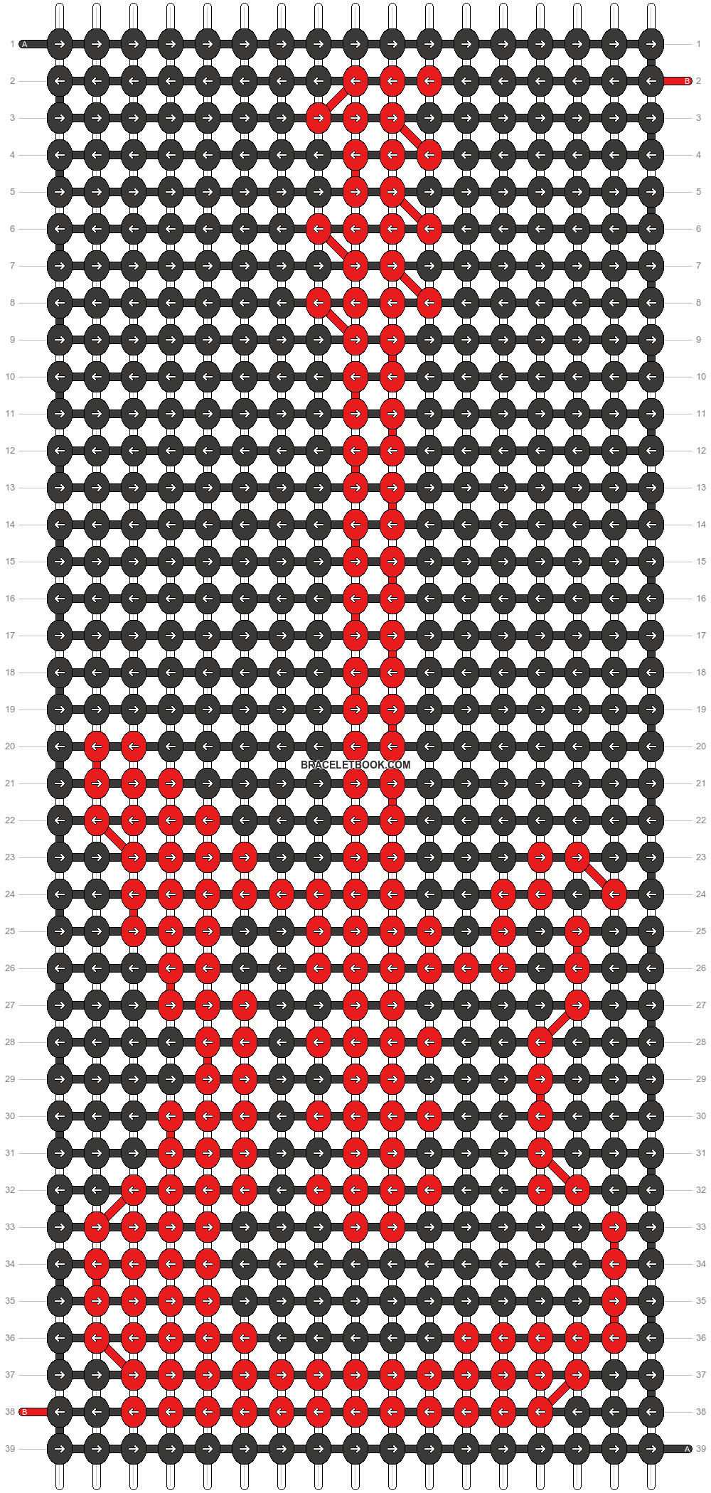 Alpha pattern #62741 pattern
