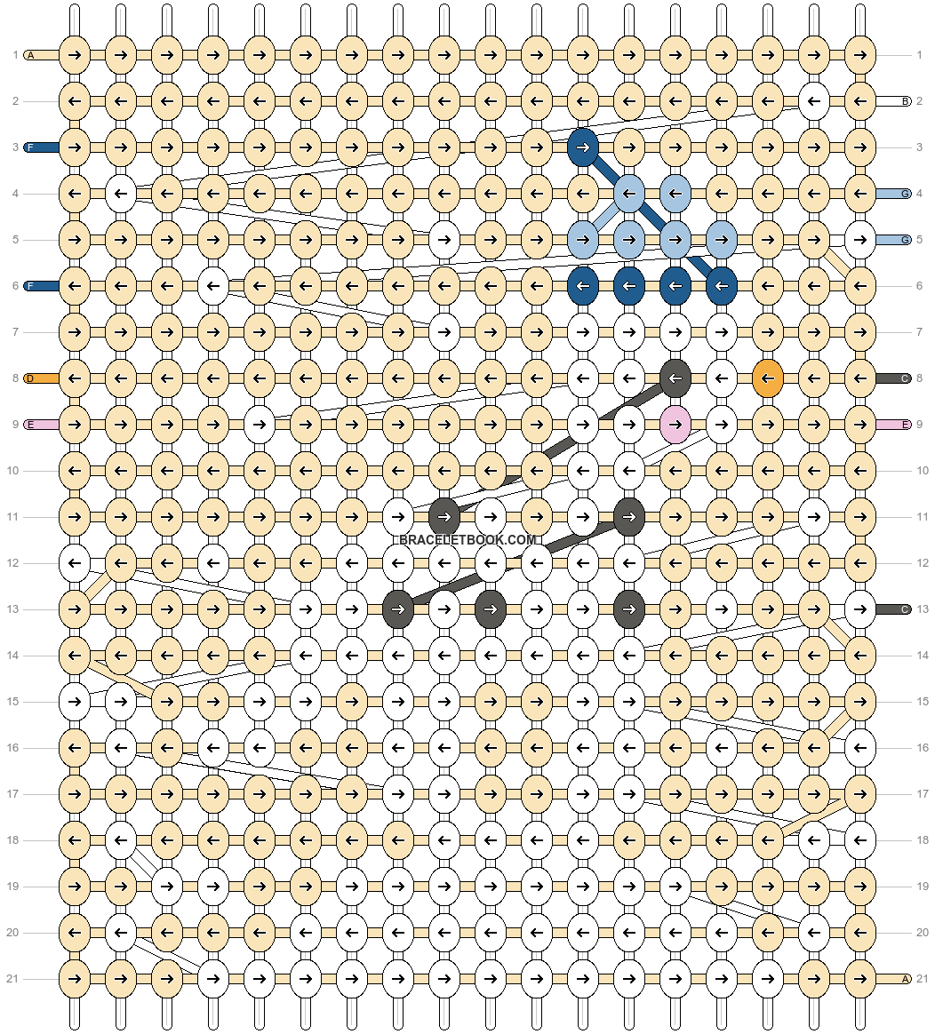 Alpha pattern #62758 pattern