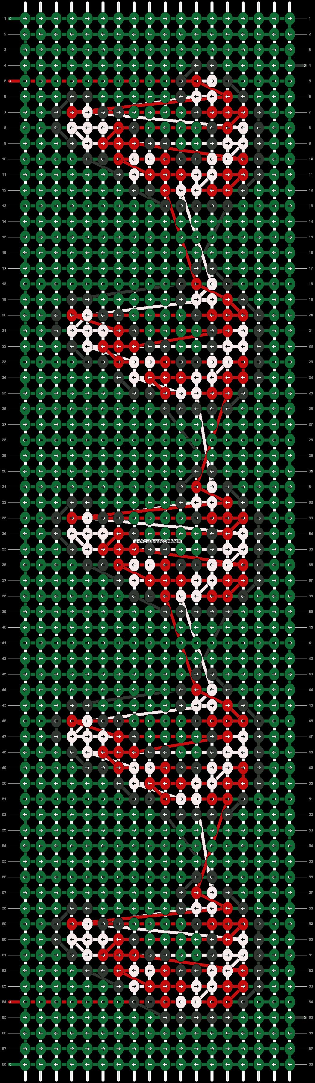 Alpha pattern #62809 pattern