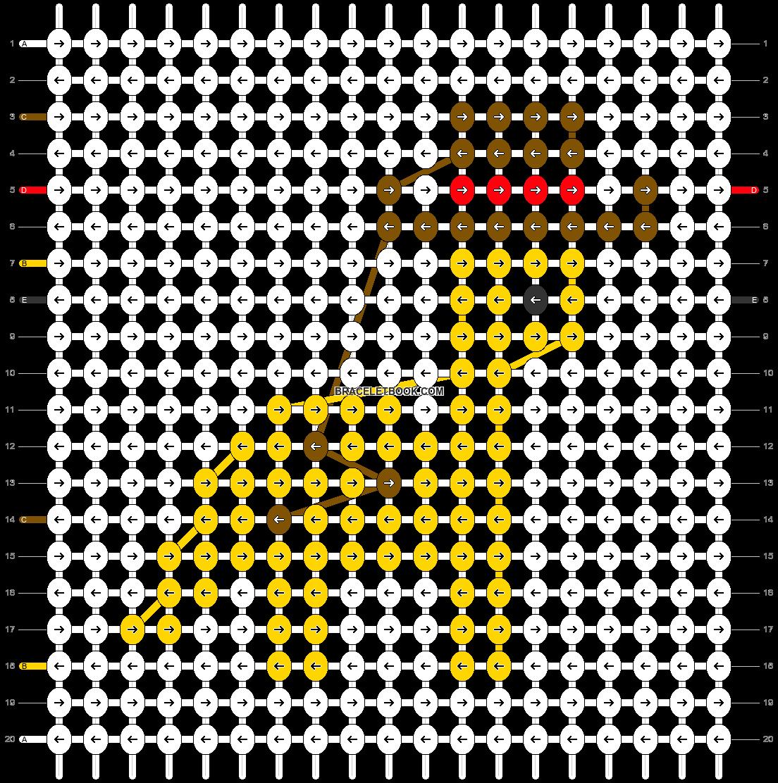 Alpha pattern #62839 pattern