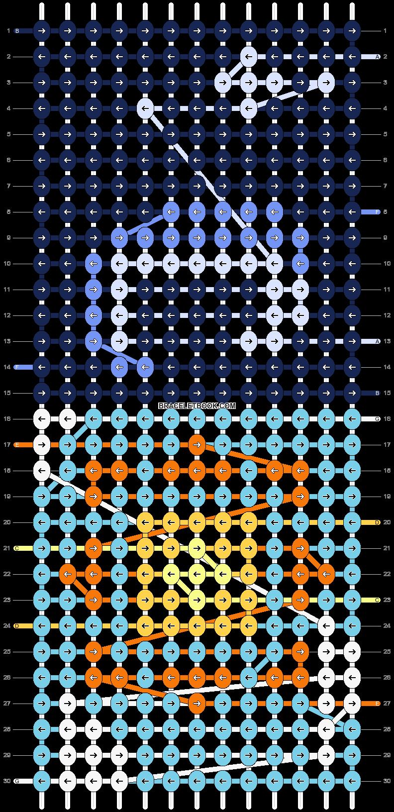 Alpha pattern #62843 pattern