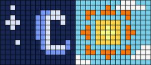 Alpha pattern #62843
