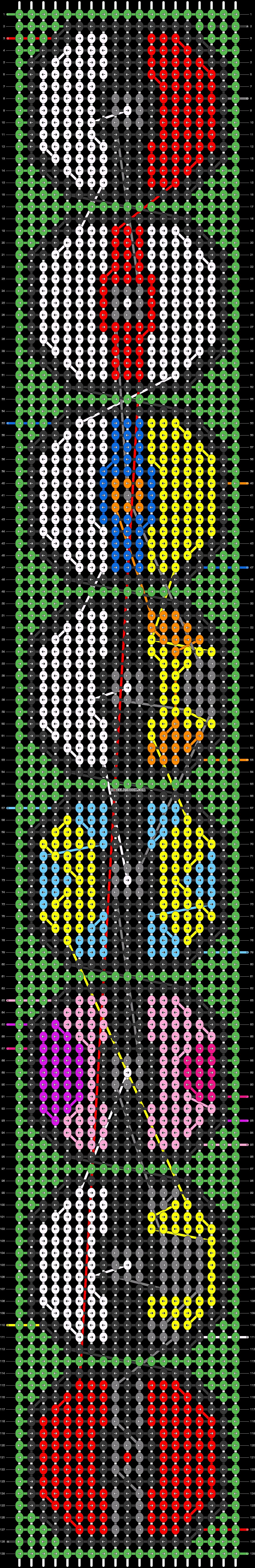 Alpha pattern #62845 pattern