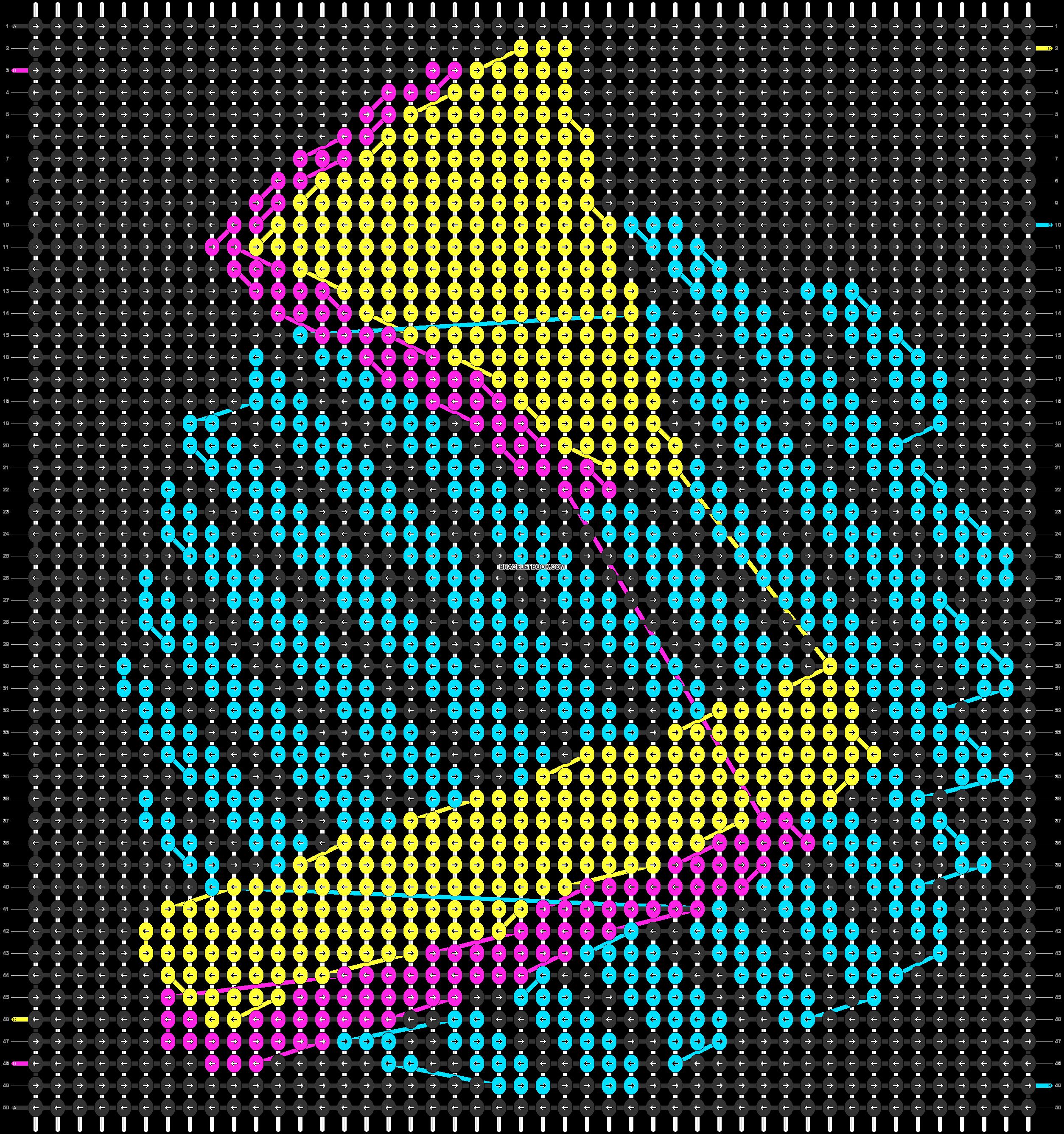 Alpha pattern #62848 pattern