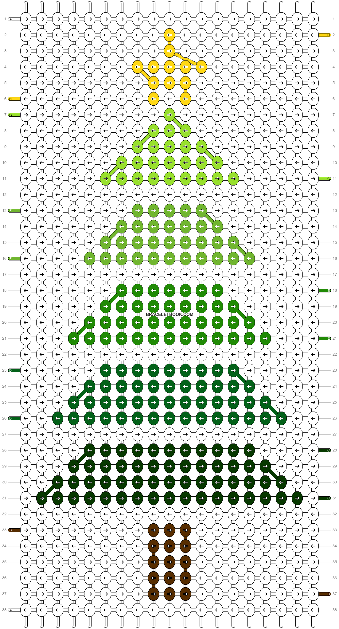 Alpha pattern #62893 pattern