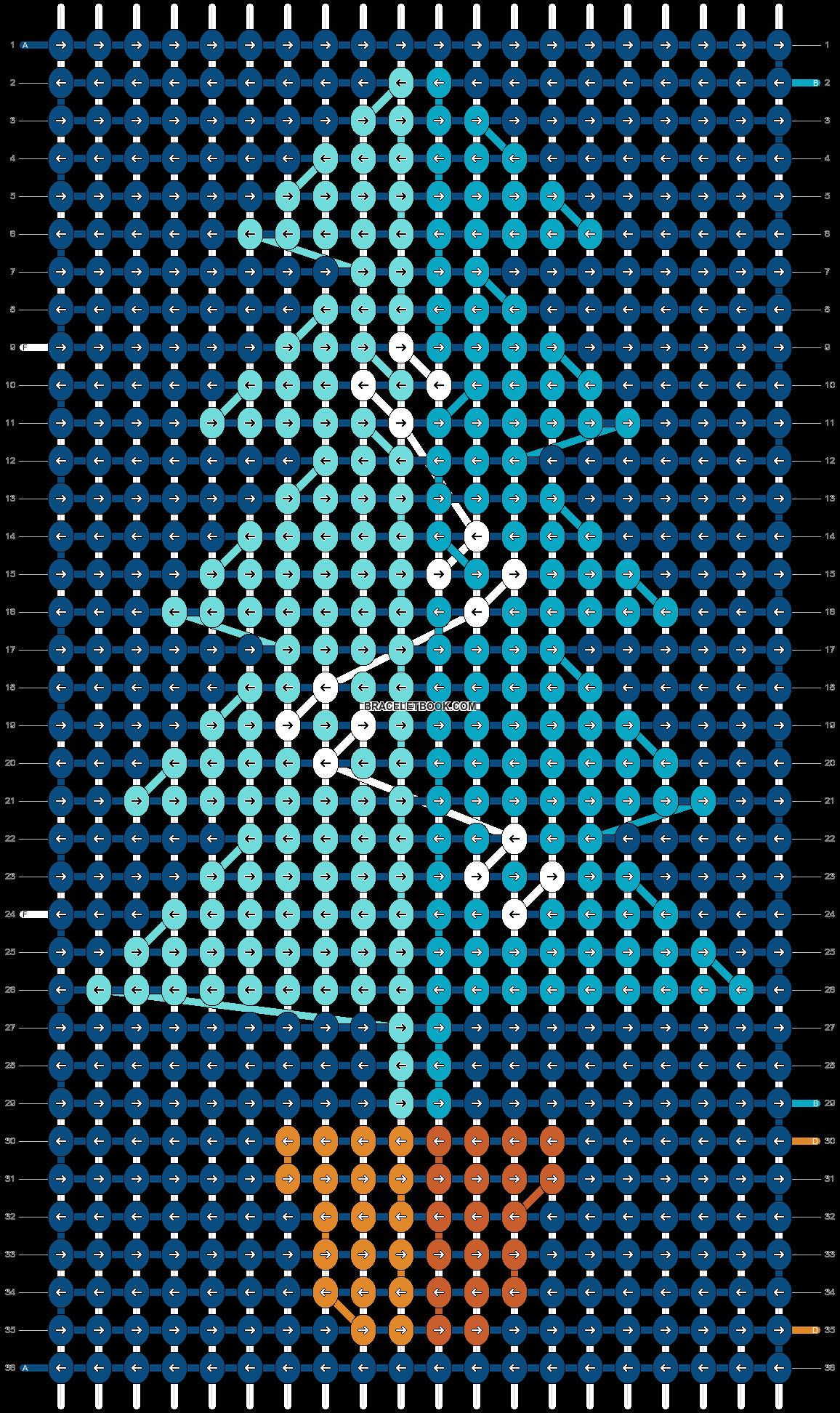 Alpha pattern #62894 pattern