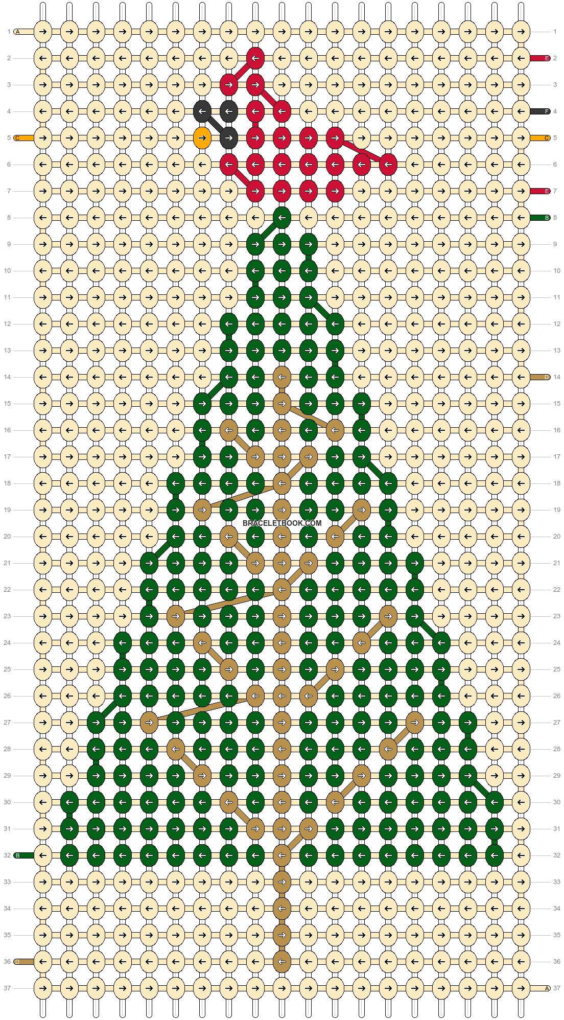 Alpha pattern #62897 pattern