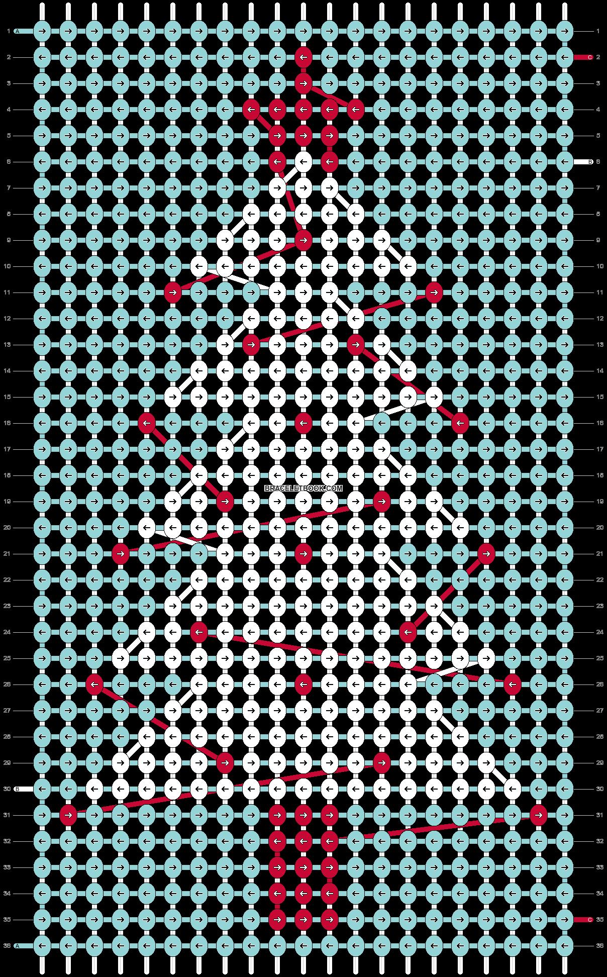 Alpha pattern #62898 pattern