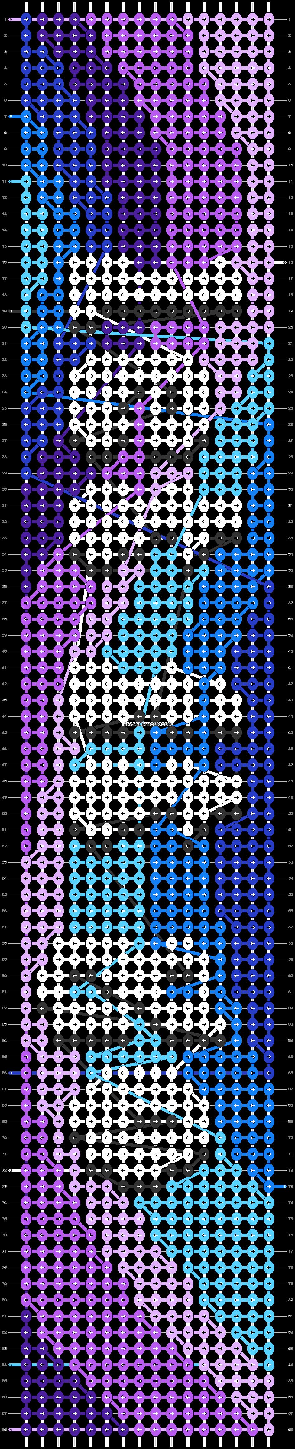 Alpha pattern #62907 pattern