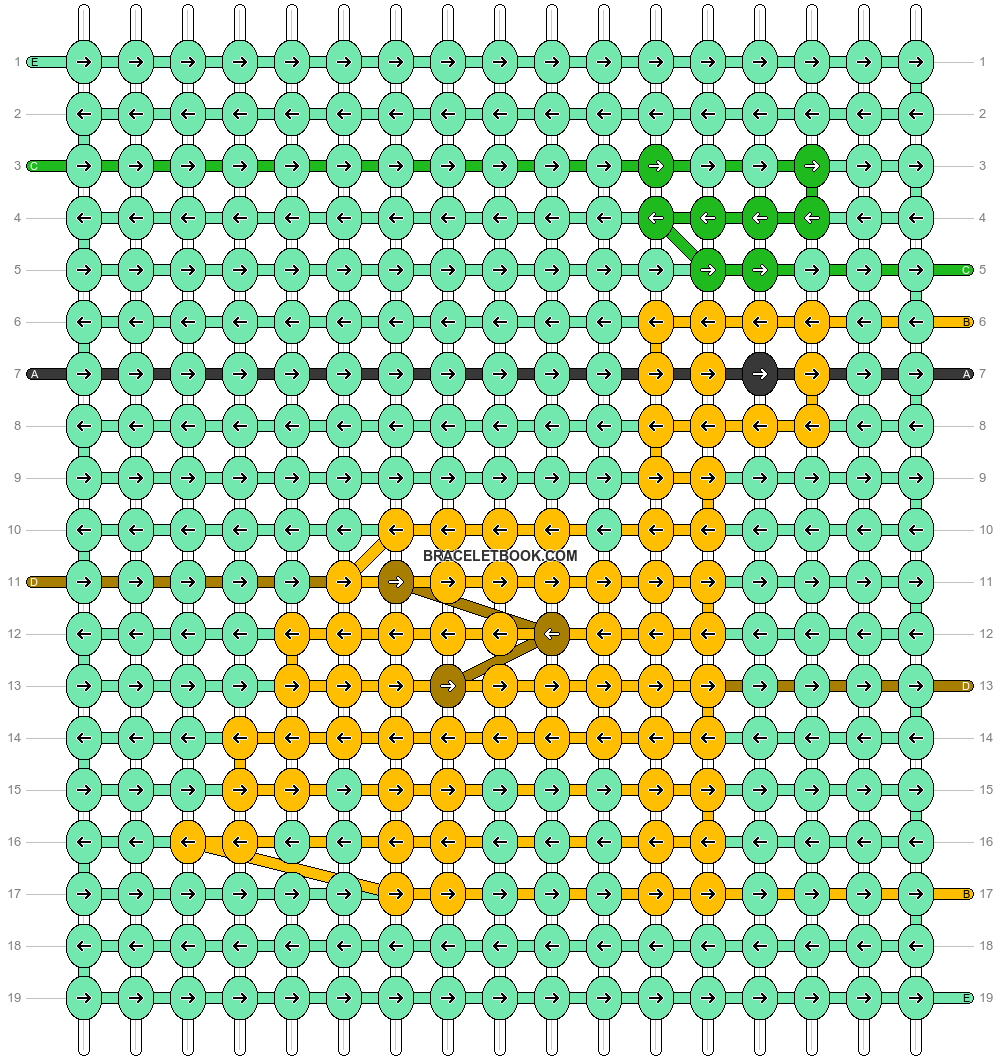 Alpha pattern #62951 pattern