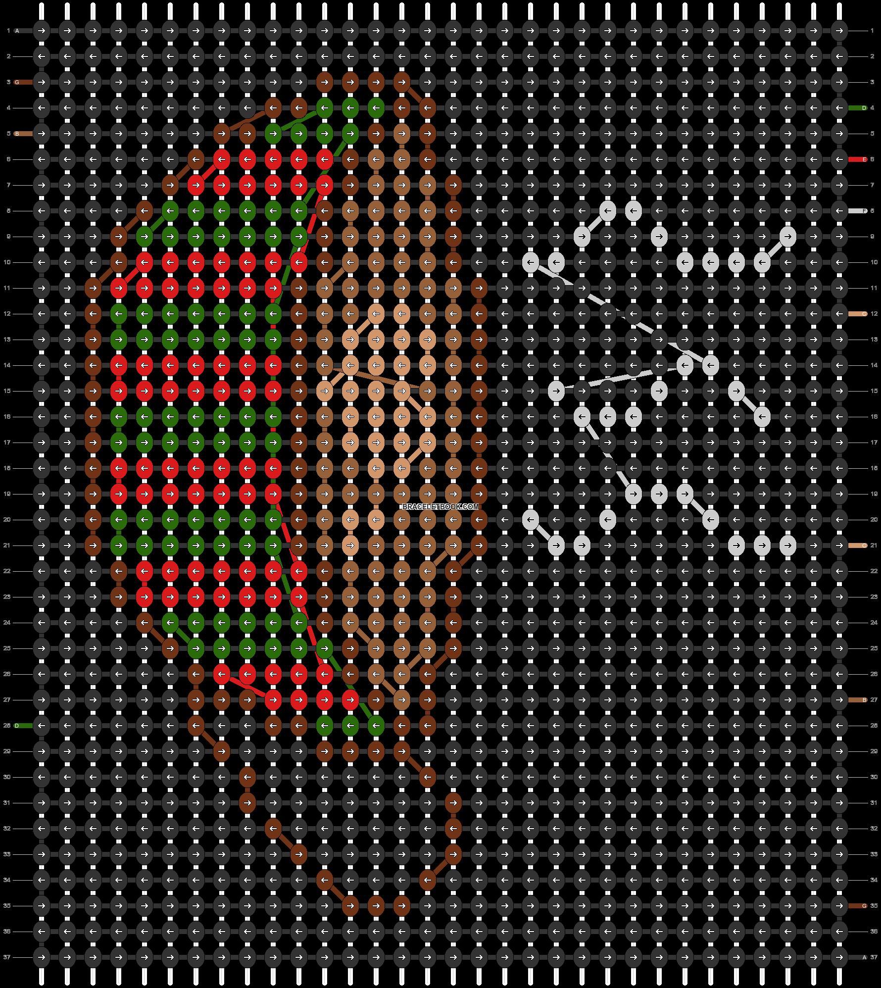 Alpha pattern #62977 pattern