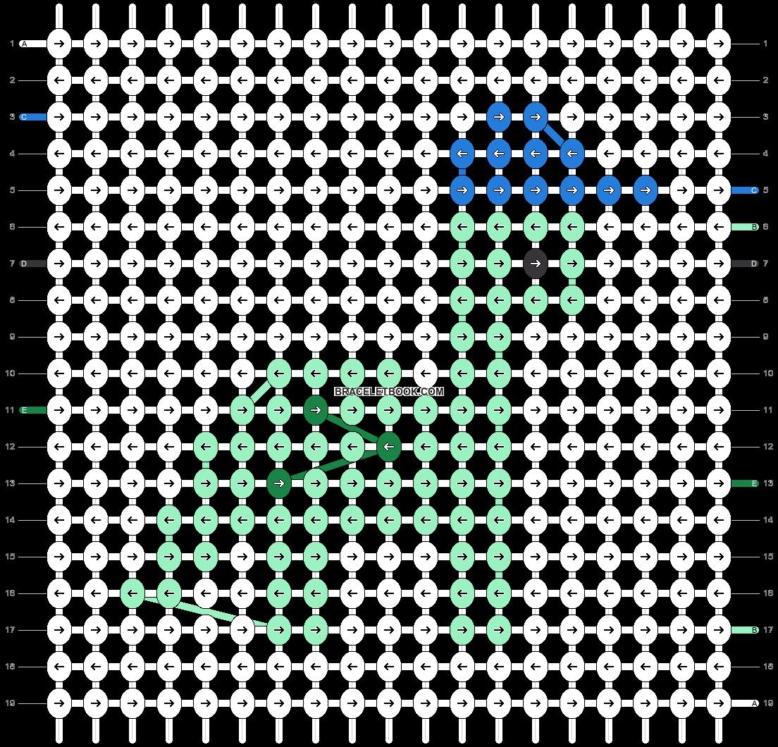 Alpha pattern #62982 pattern