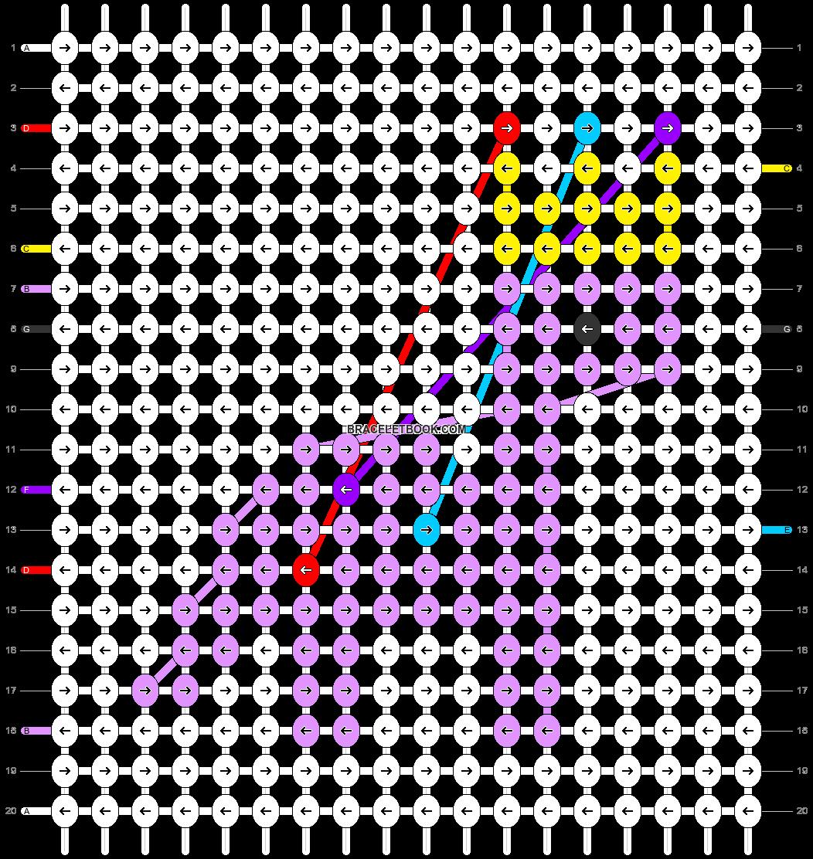 Alpha pattern #62984 pattern