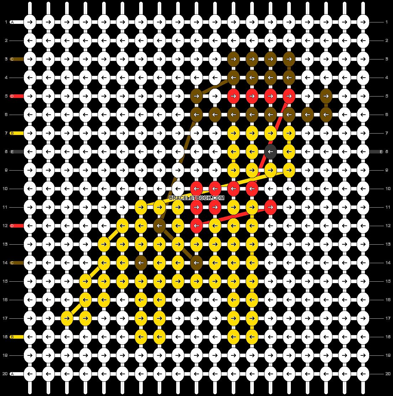 Alpha pattern #62985 pattern