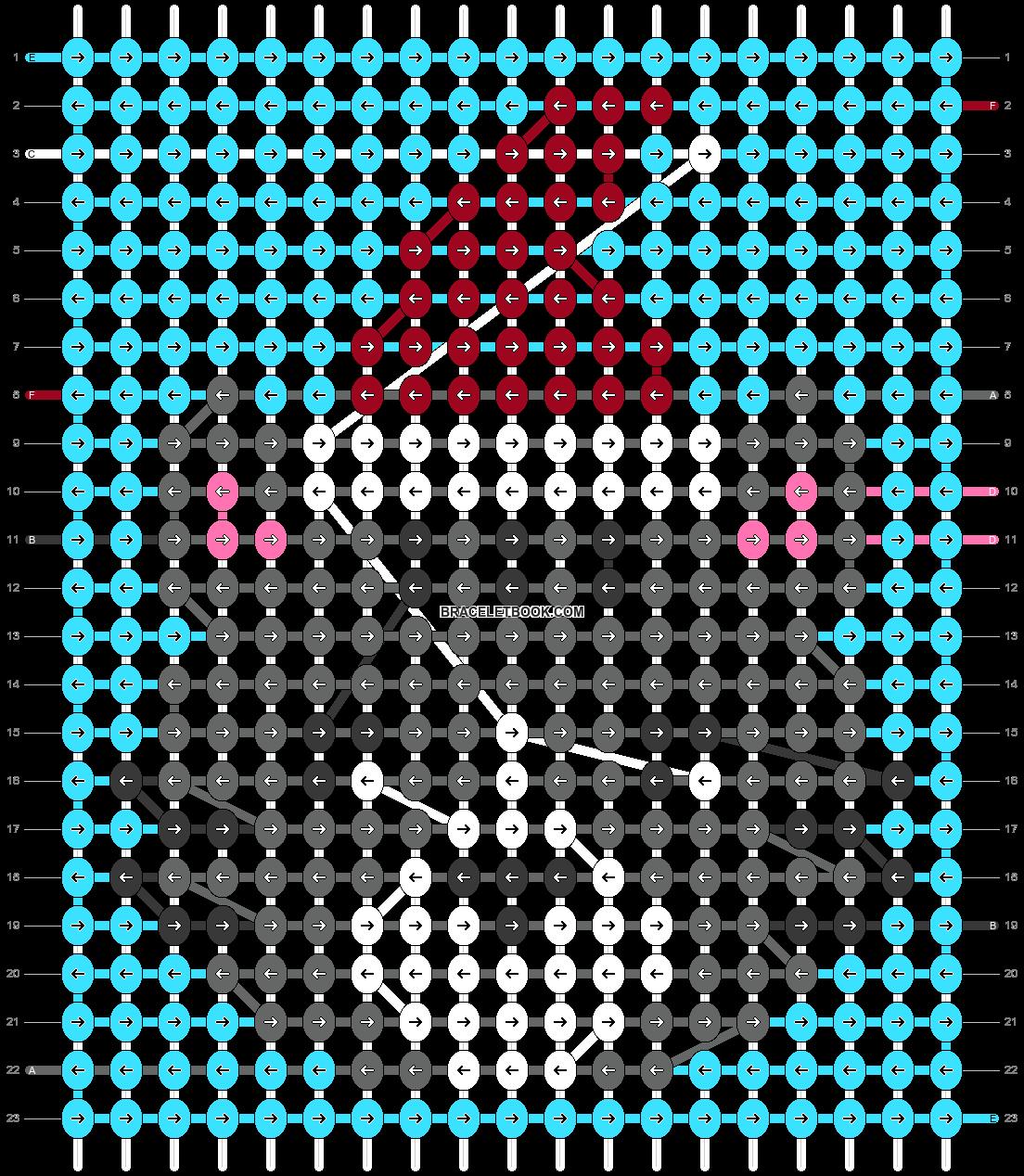 Alpha pattern #63033 pattern