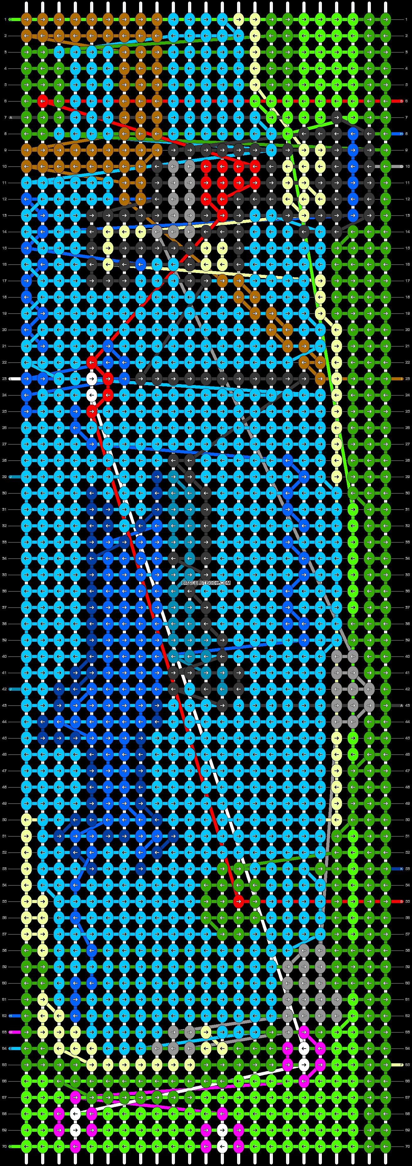 Alpha pattern #63075 pattern